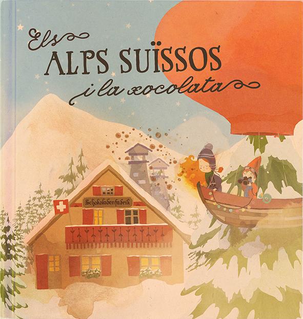 Els Alps suïssos i la xocolata