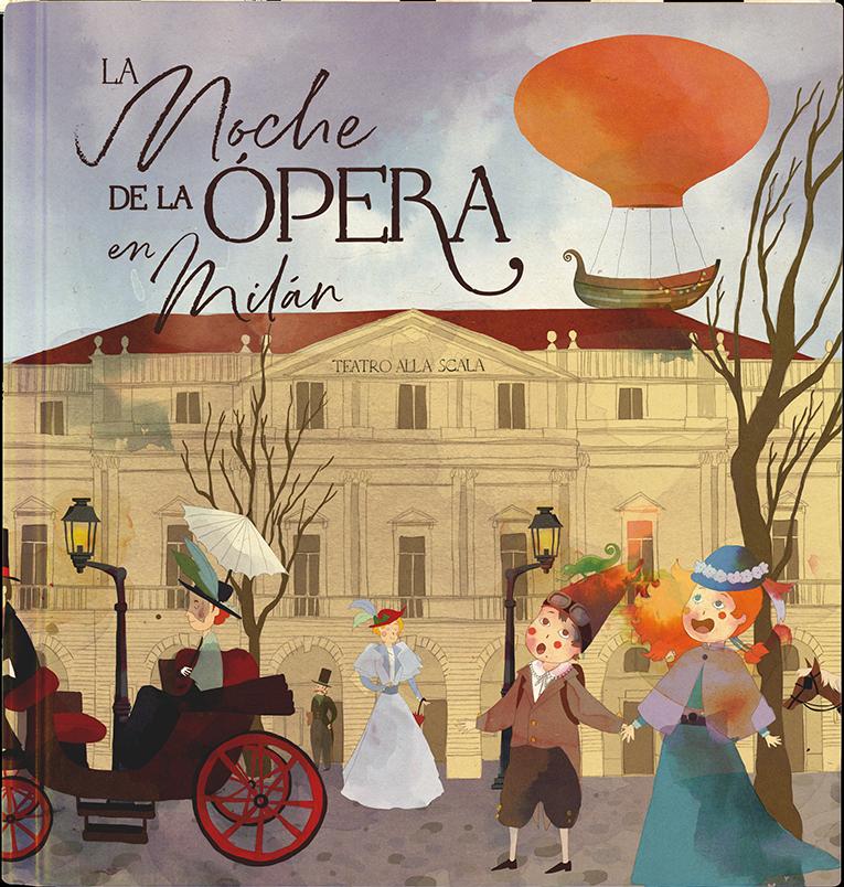 La noche de la  ópera en Milán