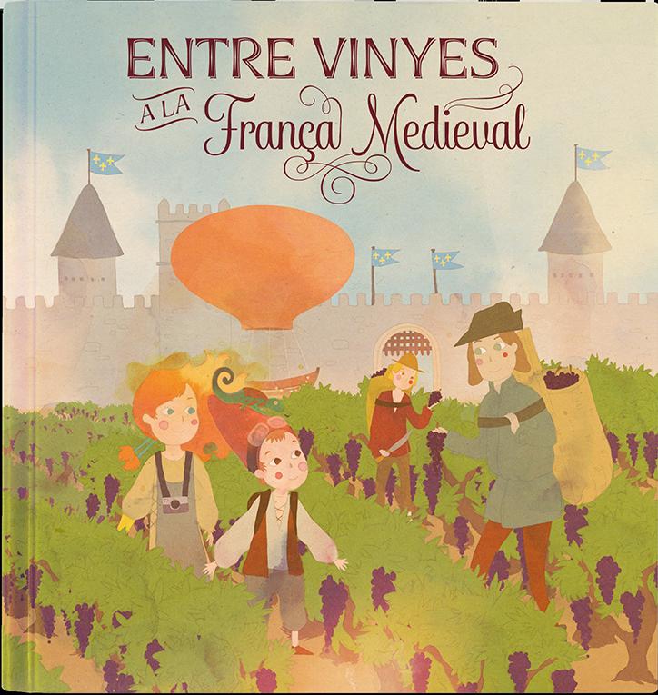 Entre vinyes  a la França medieval
