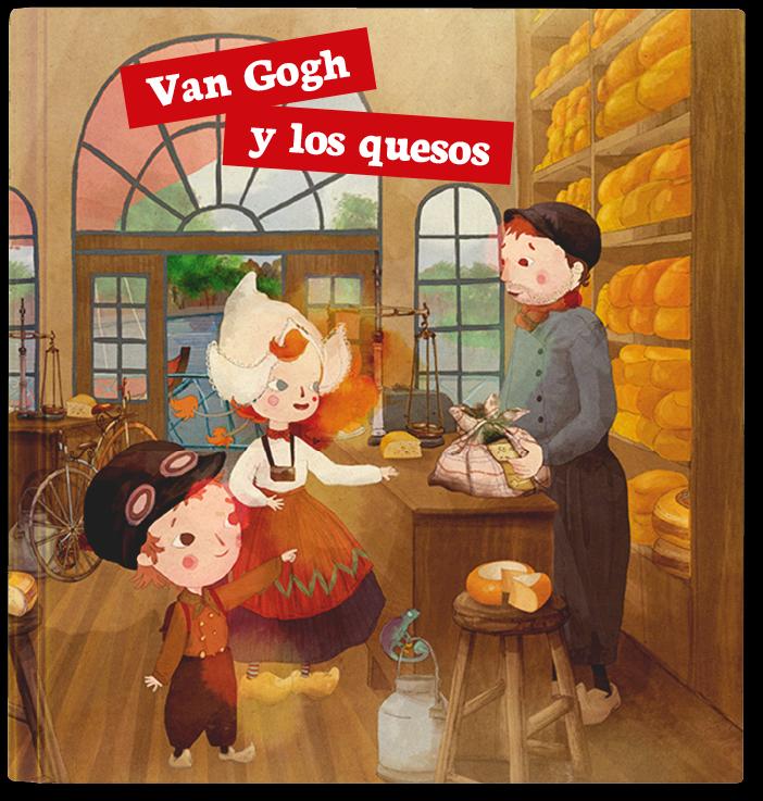 Van Gogh y los quesos